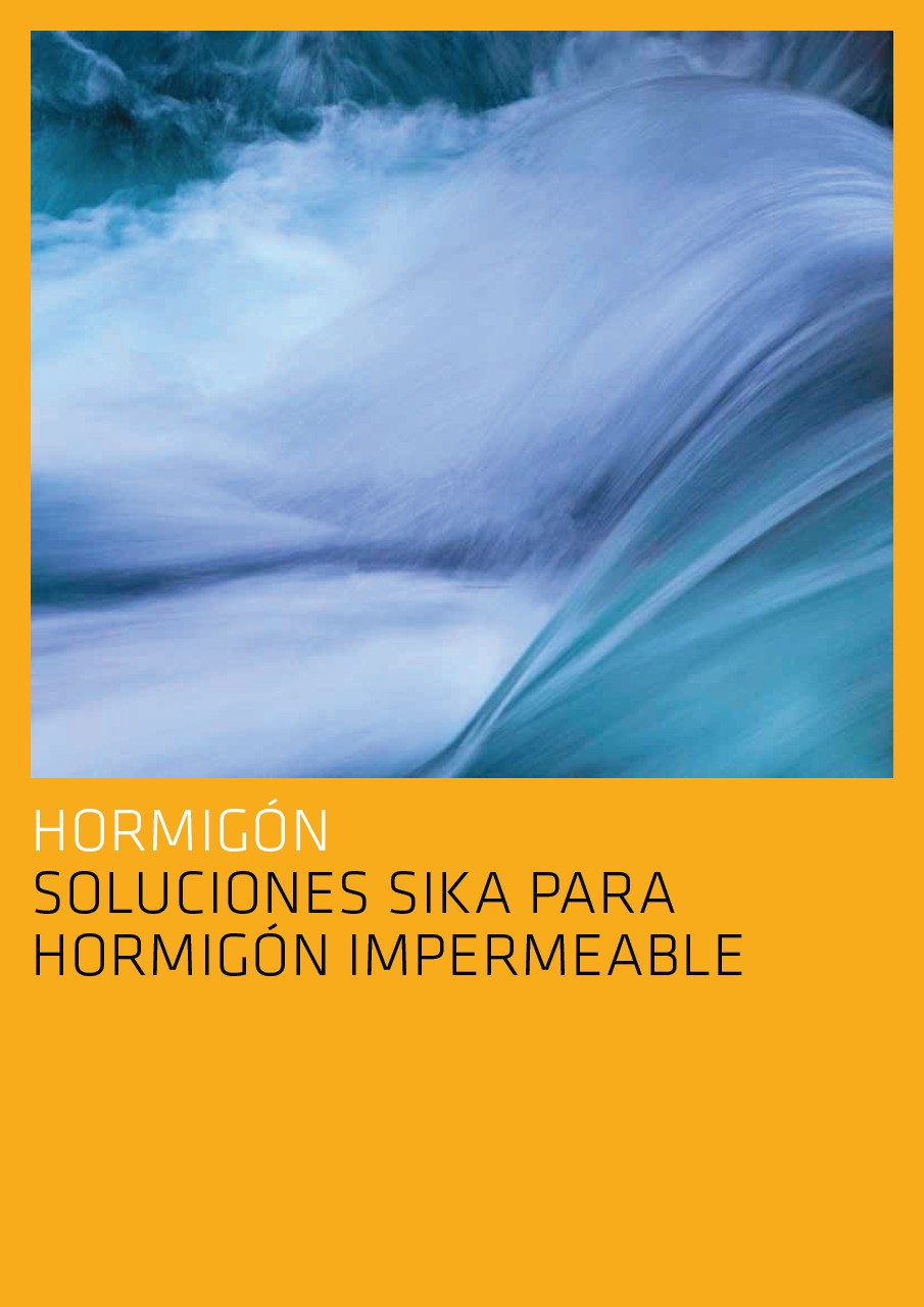 Soluciones Sika para hormigón Impermeable
