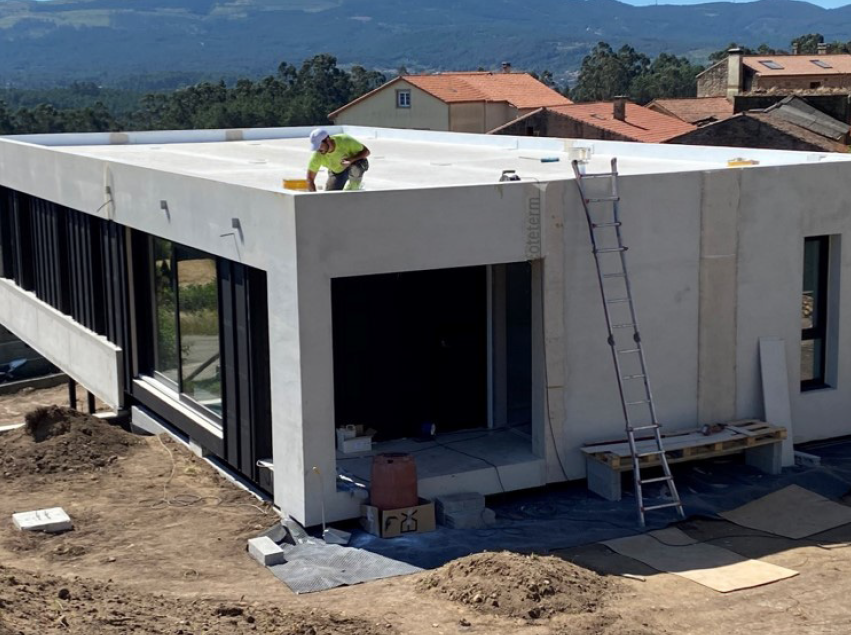 zero house proyecto compostela